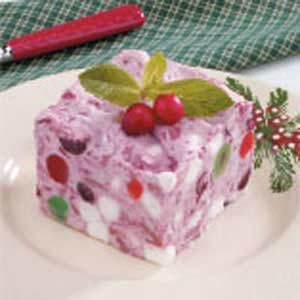 Cranberry Velvet Freeze Recipe