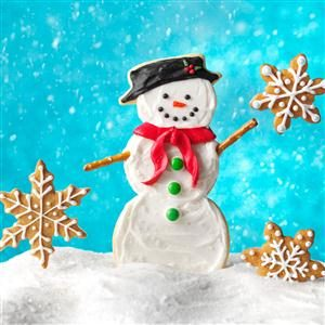 Super Snowman Cookies Recipe