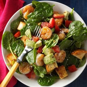 Shrimp Panzanella Salad Recipe