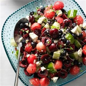 Summer Buzz Fruit Salad Recipe