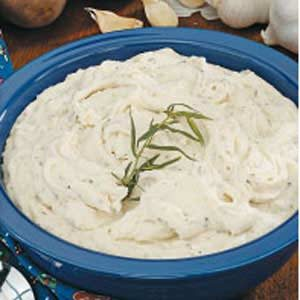 Garlic-Herb Mashed Potatoes Recipe