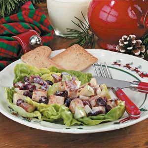 Cranberry Chicken Salad Recipe