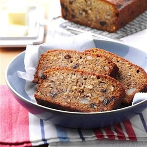 Yuletide Banana Bread Recipe
