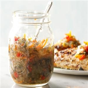 End of Garden Relish Recipe