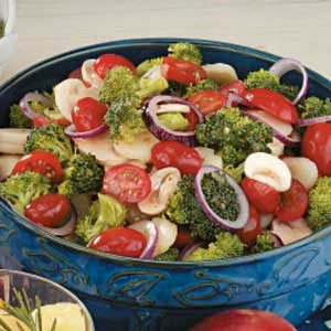 Quick Italian Broccoli Salad Recipe