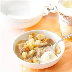 Grandma Davidson's Baked Apple Pudding