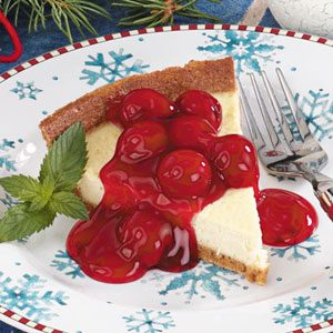 Cherry Cheesecake Pie Recipe