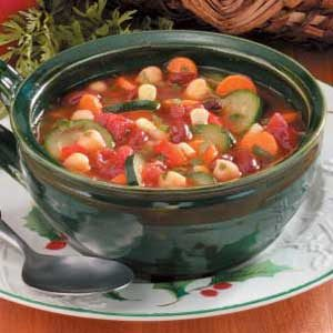Hearty Vegetable Bean Soup Recipe