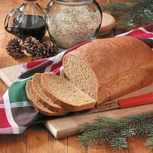 Norwegian Oatmeal Molasses Bread Recipe