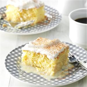 Shortcut Tres Leches Cake Recipe