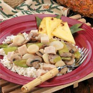 Turkey and Vegetable Stir-Fry Recipe