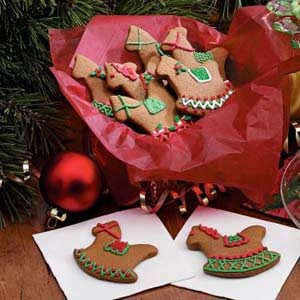 Gingerbread Christmas Cutouts Recipe