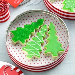 Evergreen Sandwich Cookies Recipe