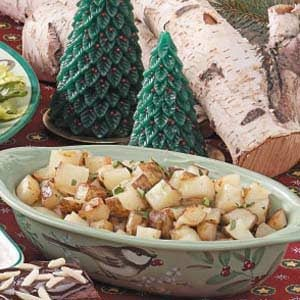 Western Cubed Potatoes Recipe