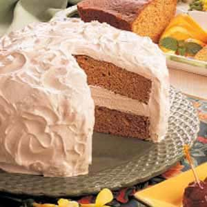 Sour Cream Spice Cake Recipe