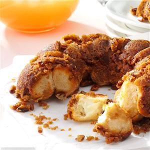 Orange Dream Pull Apart Bread Recipe Taste Of Home