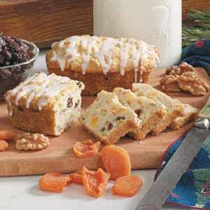 Apricot Mini Loaves Recipe
