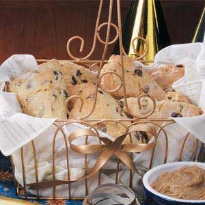 Hazelnut Chip Scones