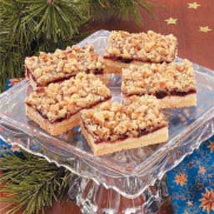 Cranberry Crumb Bars Recipe