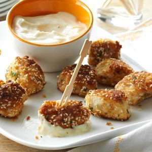 Sesame Chicken Bites Recipe