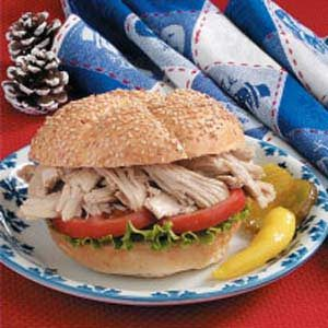 Turkey Barbecue Recipe Taste Of Home