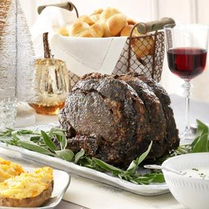 Herbed Roast Beef Recipe