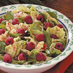 Raspberry Tossed Salad Recipe