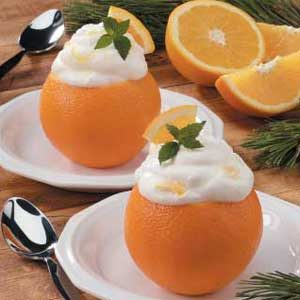 Orange Chantilly Cream Recipe
