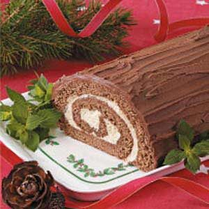 Mocha Yule Log Recipe