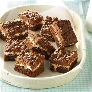 Chocolate Crunch Brownies