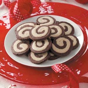 Chocolate Peppermint Pinwheels Recipe