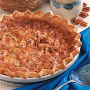 Pecan Coconut Pie Recipe