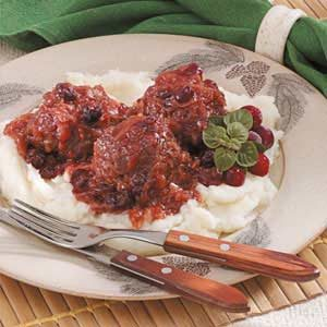 Cranberry Kraut Meatballs Recipe