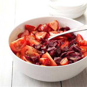 Color It Ruby Salad Recipe
