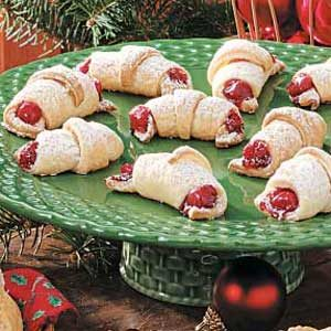 Cherry Crescents Recipe