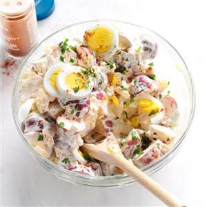 Mom's Super Stupendous Potato Salad