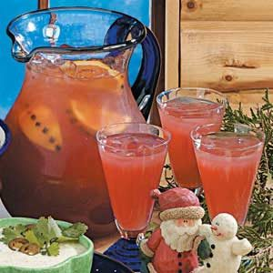 Cranberry Orange Punch Recipe
