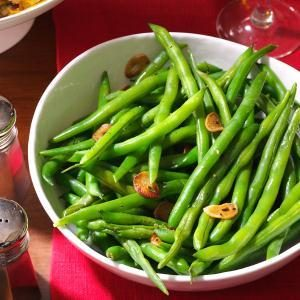 Fresh & Quick Garlic Green Beans