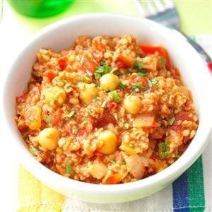 Spice Trade Beans & Bulgur Recipe