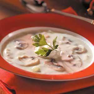 Elegant Mushroom Soup Recipe