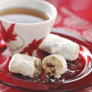Tender Pecan Logs Recipe