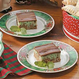 Mint Swirl Bars Recipe