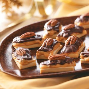 Caramel Pecan Shortbread Recipe