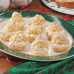 French Vanilla Cream Puffs Recipe