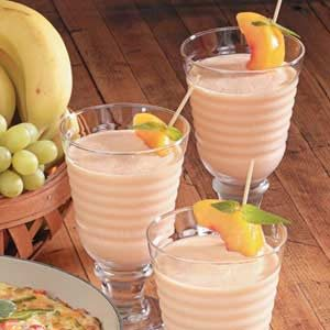 Orange Peach Smoothies Recipe