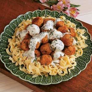 Dilly Ham Balls Recipe