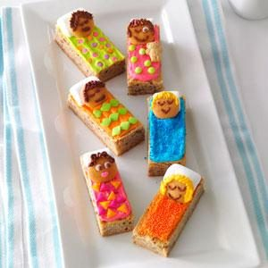 Sleeping Bag Blondies Recipe