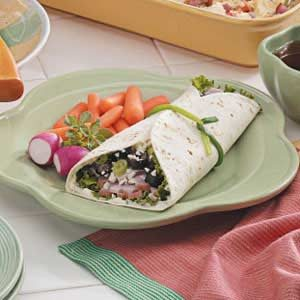 Greek Ham Wraps Recipe