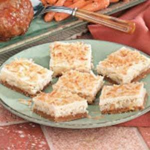 Coconut Macadamia Bars Recipe