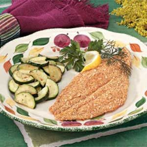 Crumb Coating for Fish Recipe